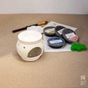 Ceramic painting to go kit