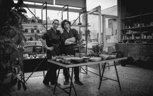 Πηνελόπη και Ιωάννα, η ομάδα του εργαστηρίου Γη